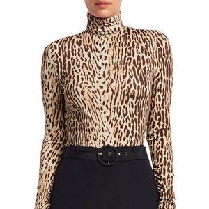 Zimmermann Eye Spy Leopard Knit Top. US Size 8-10
